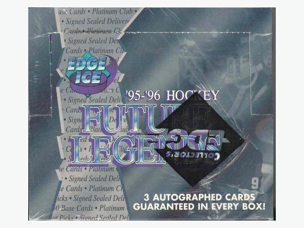 95/96 Edge Ice Future Legends Sealed Wax Box Darcy Tucker Curtis Joseph