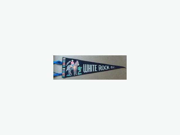 1960's White Rock, B.C. pennant