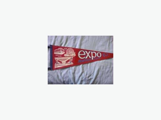 Expo 67 pennant