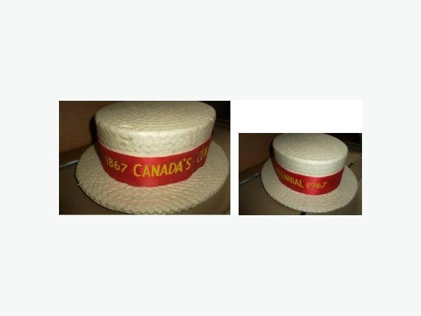 1967 Canada Centennial Boater Hat