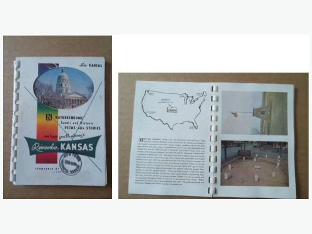 1953 Souvenir Booklet of Kansas
