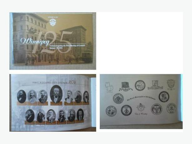 Winnipeg 125th Anniversary booklet