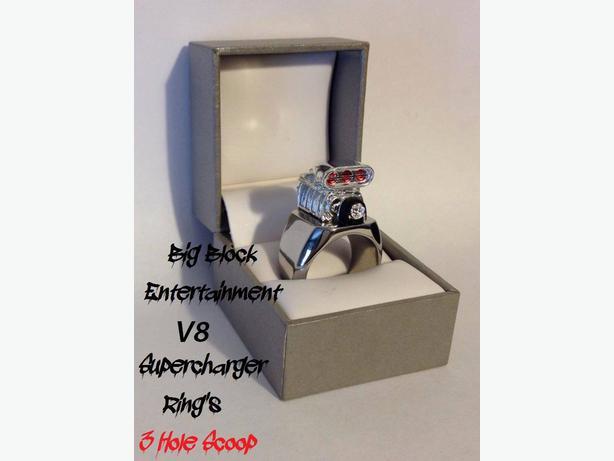 Big Block Entertainment V-8 Supercharger Blower Ring