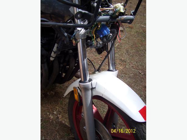 Yamaha FJ600 front forks front suspension front end