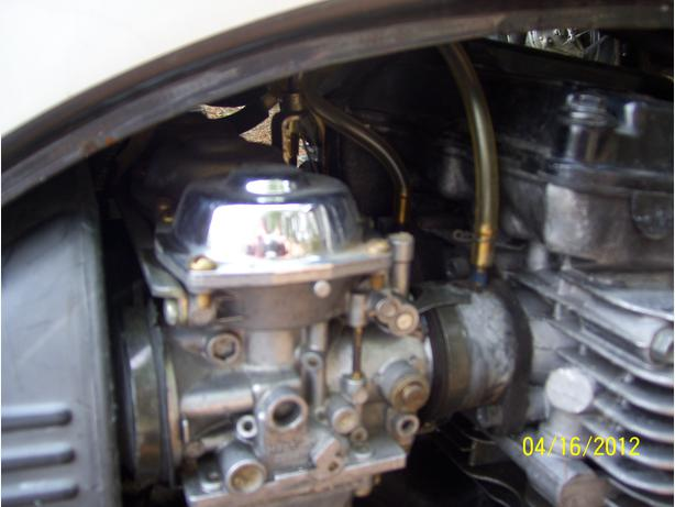 Yamaha FJ600 carbs completely rebuilt Radian Maxim