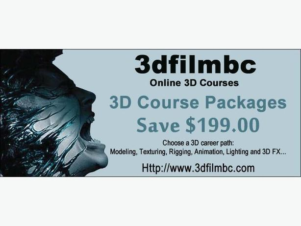 Online 3D Animation Courses