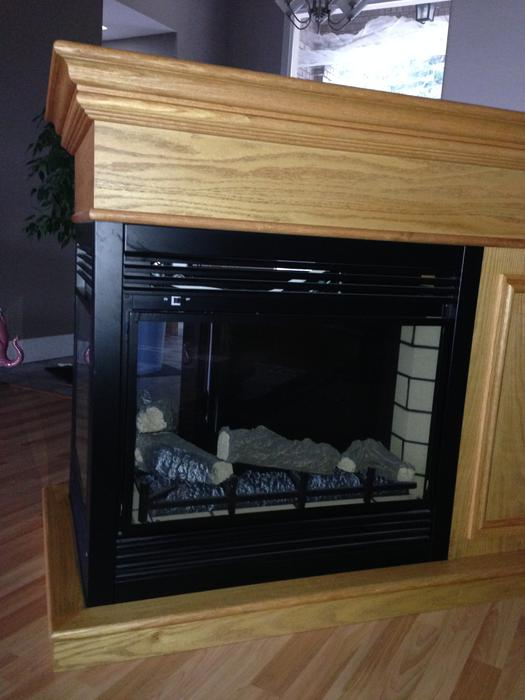3 sided electric fireplace north nanaimo  parksville