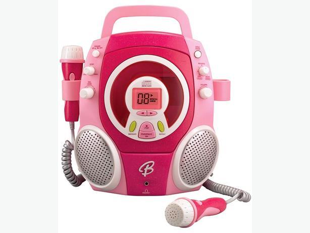 two microphone karaoke machine