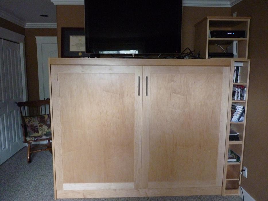 Murphy Beds Langford : Shaker style murphy bed west shore langford colwood