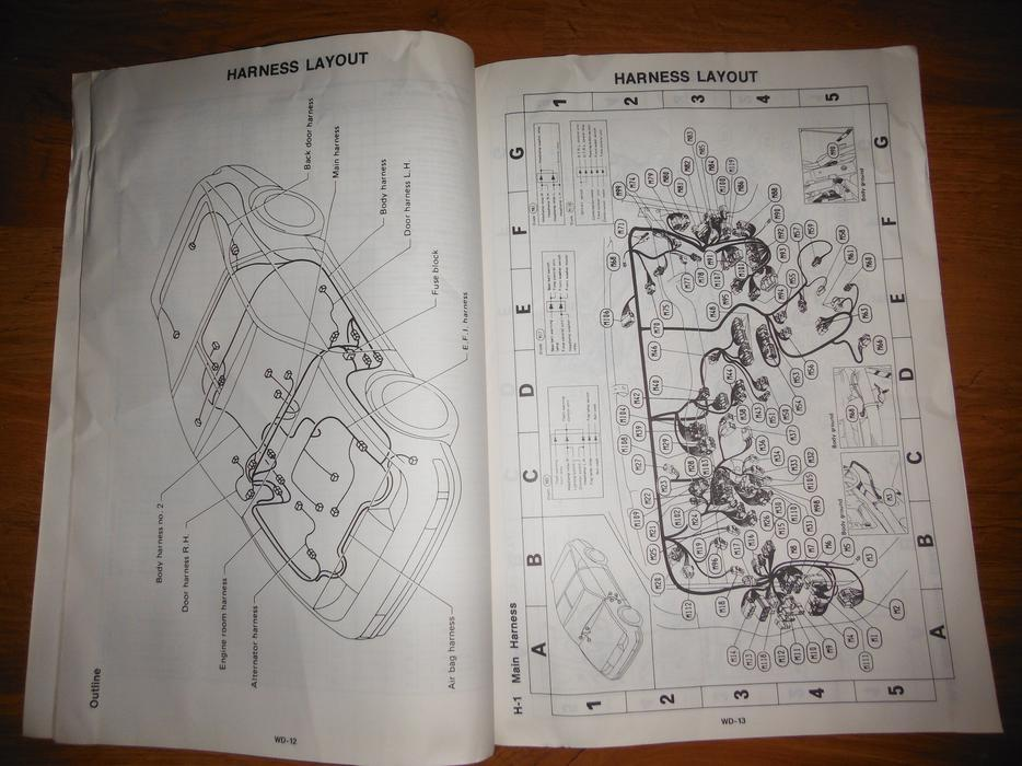1993 Nissan 300zx Factory Wiring Diagram Manual Central