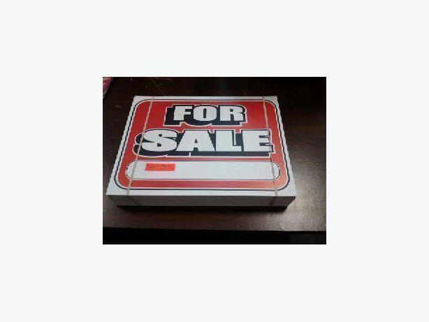 "100 ""For Sale"" Signs"