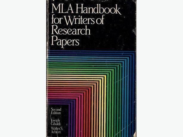 for writers of research papers gibaldi Gibaldi, joseph mla handbook for writers of research papers 7th ed  mla  format follows the author-page method of in-text citation this means that the.