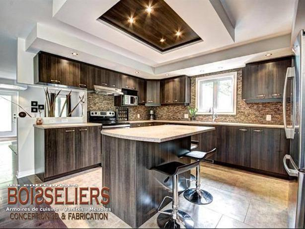 Kitchen cabinets vanities and commercial millwork experts for Kitchen cabinets quebec