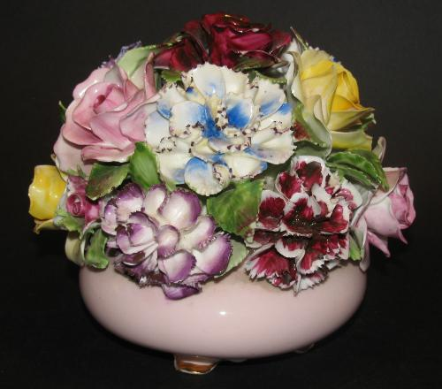 Adderley Bone China Made In England Floral Bouquet Hand