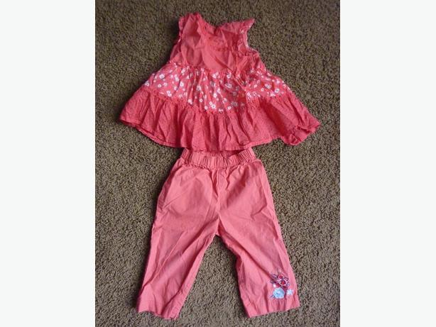 Pink Outfit - Size 12 Months