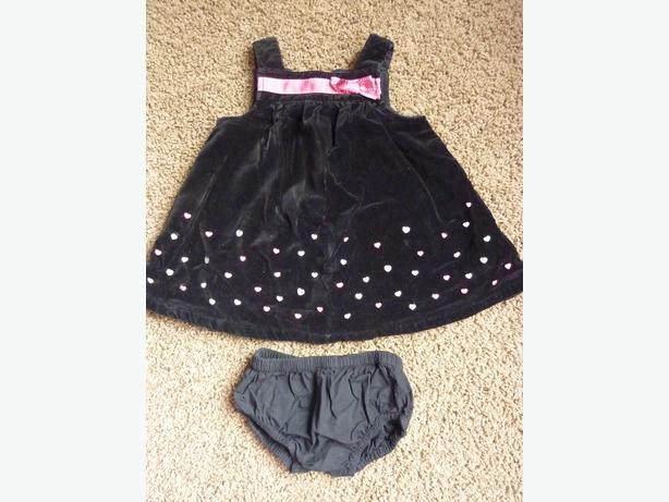 Black Dress - Size 6-12 Months