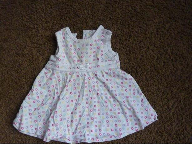 White Dress - Size 3 Months