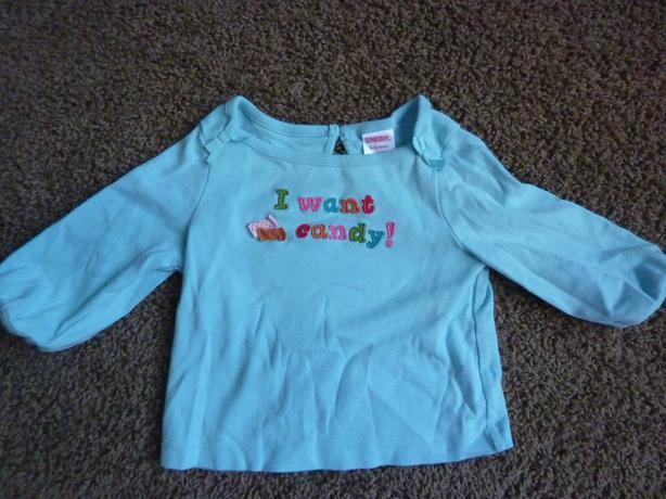 Candy Shirt - Size 6-12 Months