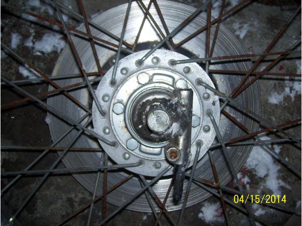 Honda CB750K speedo gear drive gear