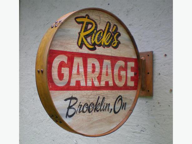 Old Garage Signs : Vintage garage signs pictures to pin on pinterest daddy