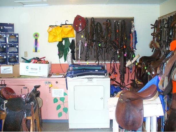 Used Tack Store at CTRA