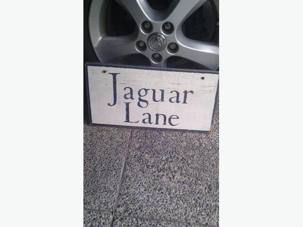 Jaguar sign for the Collector