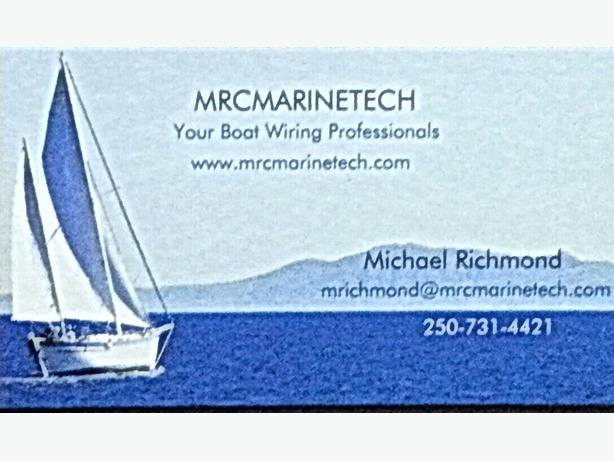 MRCMARINETECH- your boat wiring professionals