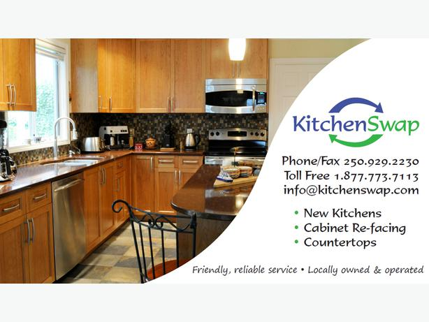 Cabinet refacing and new kitchens outside nanaimo nanaimo for Kitchen cabinets nanaimo