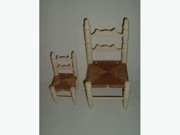 2 doll chairs west regina regina for Small stuffed chairs