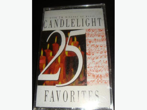 Candlelight Music Cassette Tape