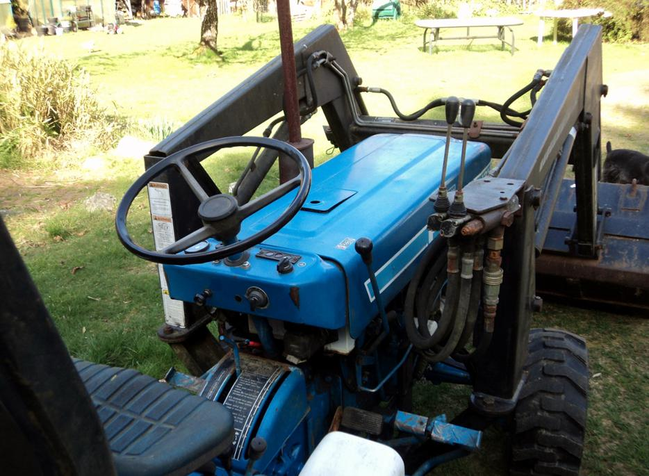 Ford 1210 4wd Tractor 16hp Diesel 7900 Front End Loader