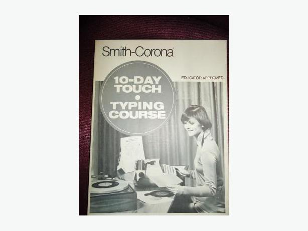 1961 Smith-Corona 10-Day Touch Typing Course Educator Set