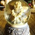 Numerous Angel Collectible Pieces (Statues, Artwork, Snowglobes)