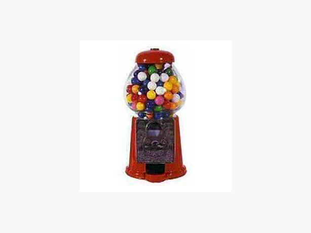 Vintage Gum Ball Machine - with Operable Coin Slot - SOLD