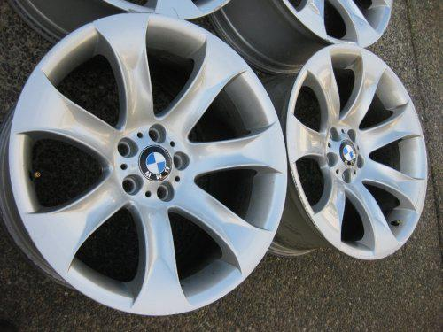 Set Of Staggered Genuine 20 Inch Bmw X5 Style 168 Rims E53