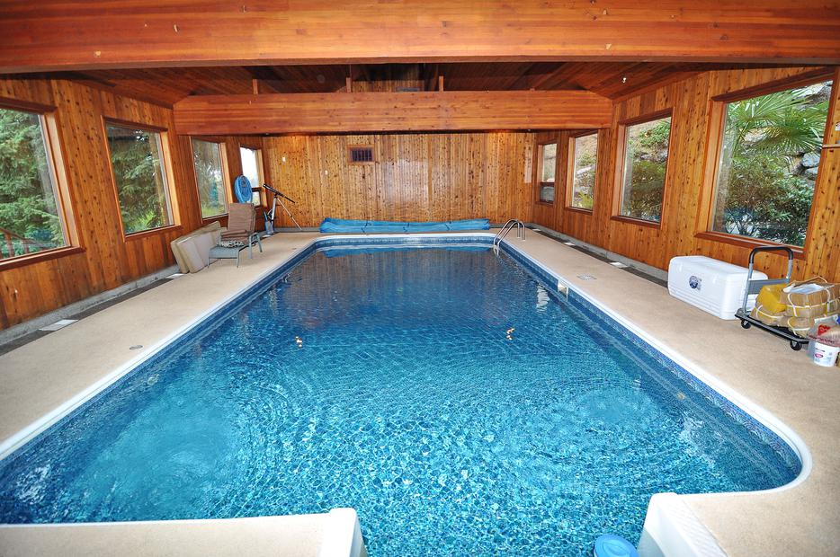 Ocean View House On Acreage With Indoor Swimming Pool Lantzville Nanaimo