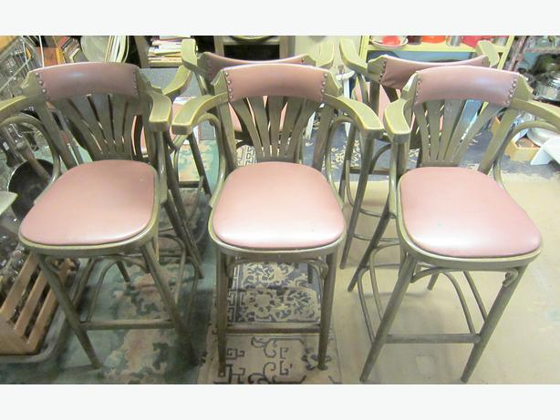 Vintage Chairs Stools West Shore Langford Colwood