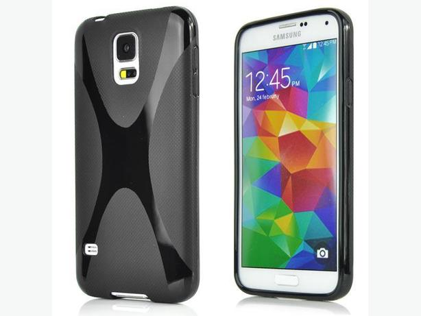 Samsung Galaxy S5 TPU Soft Plastic Protective Cover.