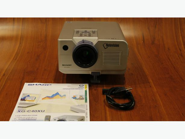 Sharp BQC-XGC40XU projector for sale