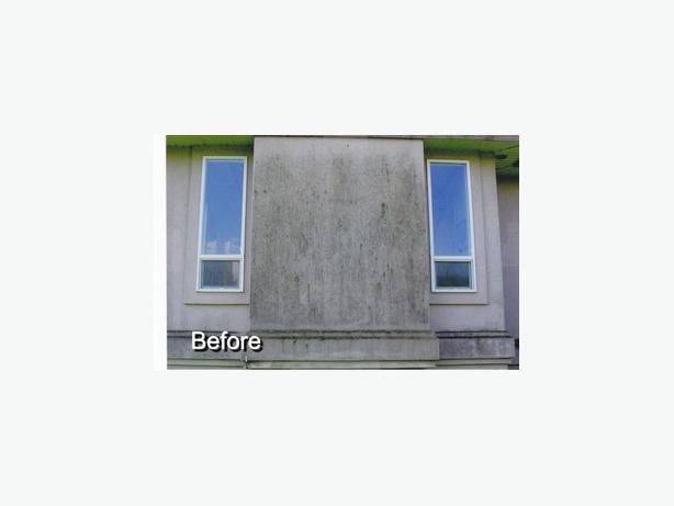 Stucco cleaning & Stucco Repairs