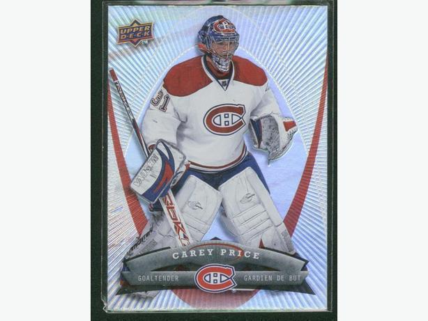 2008/2009 Upper Deck McDonald's Montreal Canadiens Carey Price