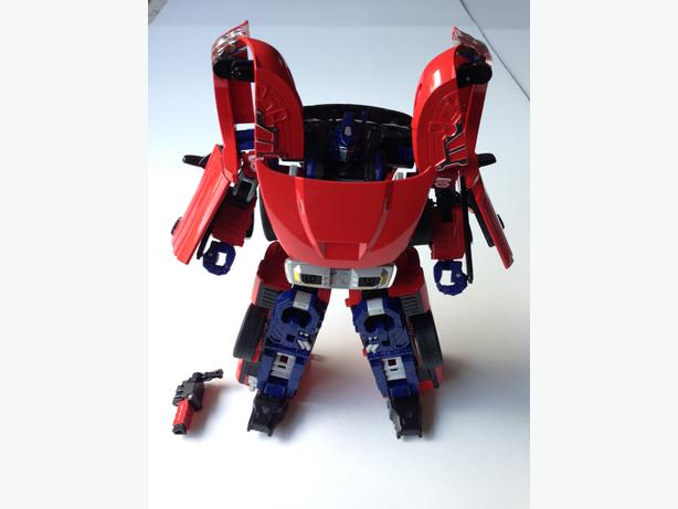Takara Transformers Binaltech Convoy Optimus Prime Srt