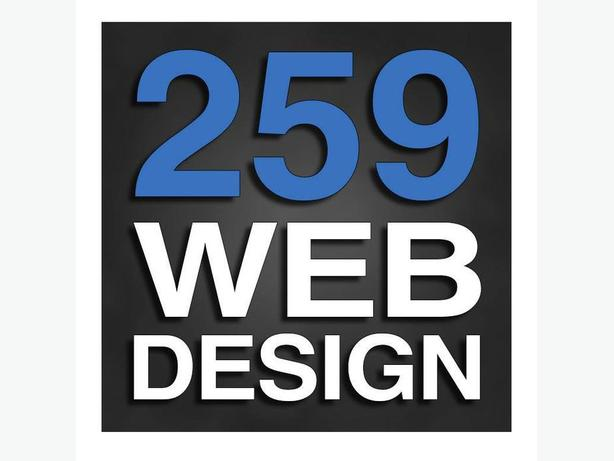 Custom Web Design $259.