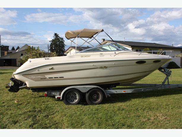 1994 Sea Ray Ov 220 Signature Select Boat Outside Victoria