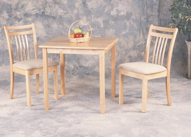 Brand new 30 solid wood square table chairs loi 39 s for Consignment furniture clearwater