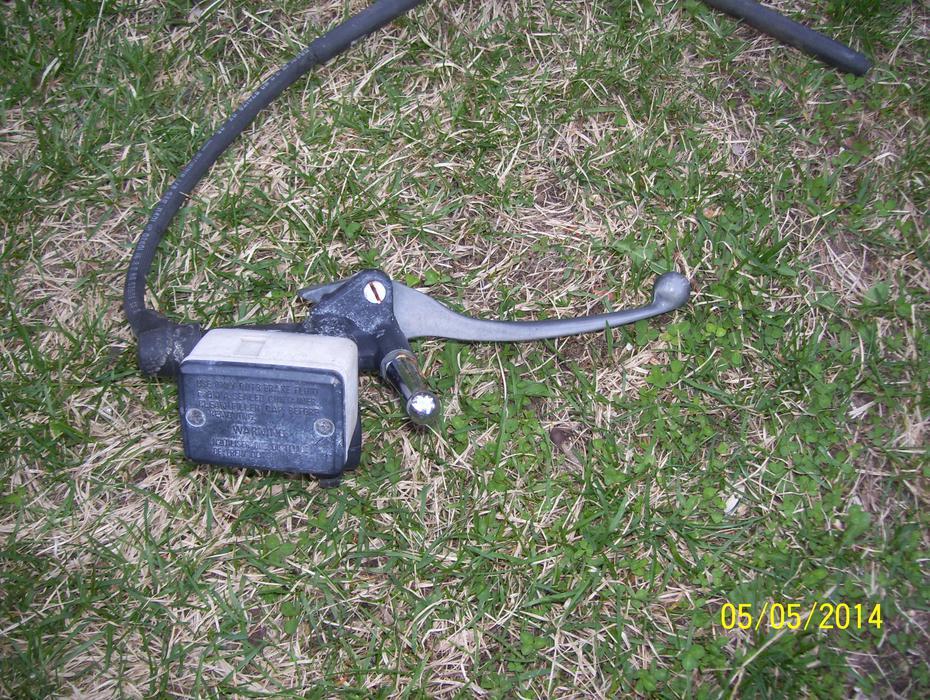 honda goldwing 1100 master cylinder front brake lever