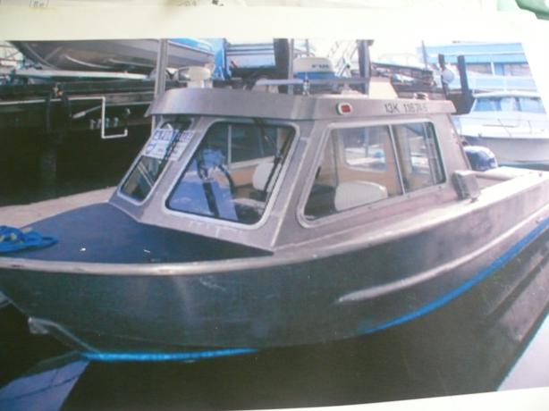 Aluminium boat plans and kits welded aluminum boats for for Aluminum boat with cabin for sale