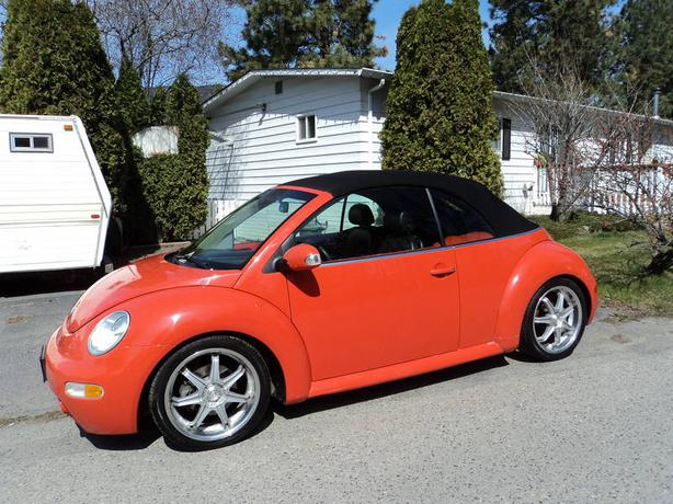 2004 vw convertible new beetle westbank okanagan. Black Bedroom Furniture Sets. Home Design Ideas