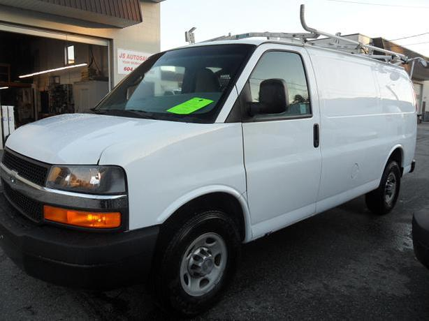 2010 Chevrolet Express 2500 Cargo van, Ladder Rack, Shelving