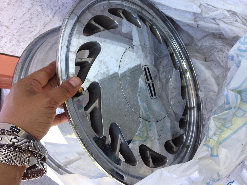 how to clean corrosion off chrome rims